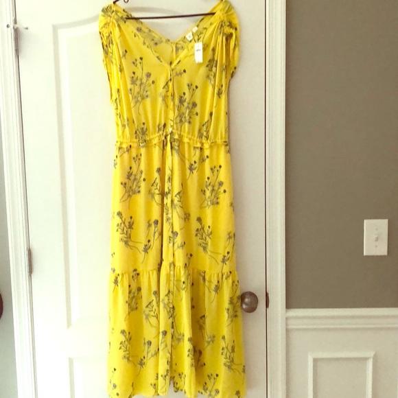 GAP Dresses & Skirts - Yellow GAP maxi dress.